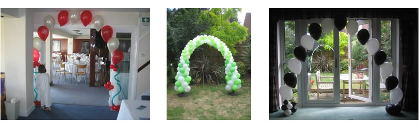 Assorted Balloon Arches